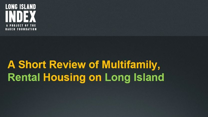 multifamily housing report cover